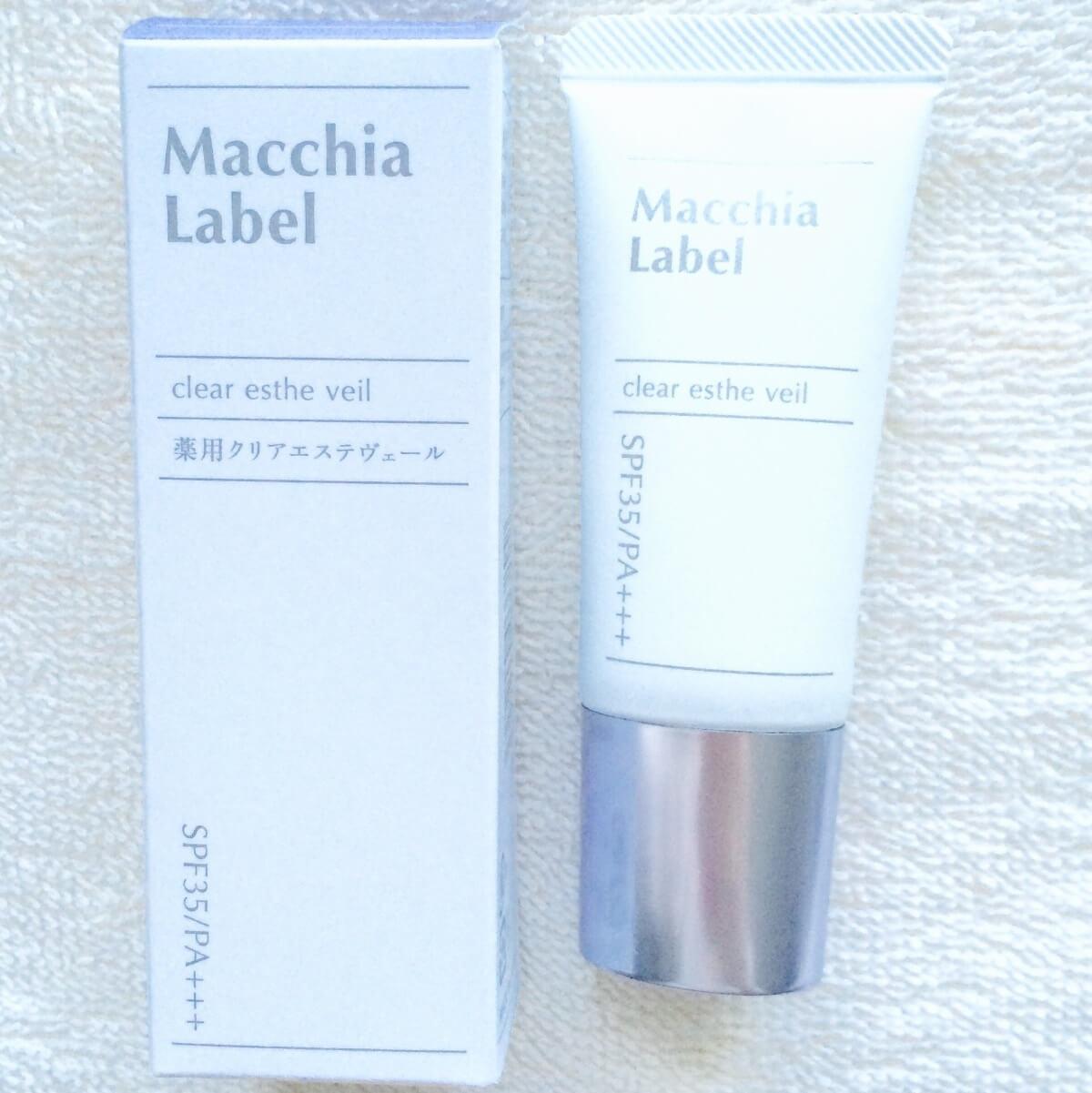 Macchia Ladel(マキアレイベル)<br>薬用クリアエステヴェール<br>美容液ファンデーション SPF35 PA+++の画像
